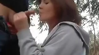 I fuck my GF outdoor and online