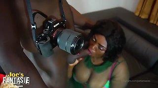 African Photographer Fucks Client