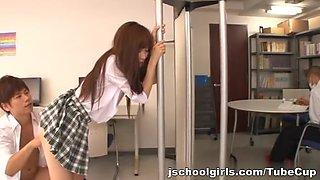 Teen schoolgirl hot fucking with thick cumshot Ayana Haruki