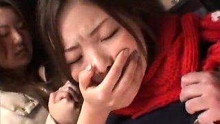 Best Japanese whore Minaki Saotome, Azusa Nagase in Incredible Hardcore, Lesbian/Rezubian JAV video