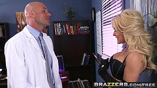 Brazzers - Doctor Adventures - Late Night With Dr. Fucky scene starring Helly Mae Hellfire