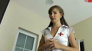 angel as nurse wrong pills quickie