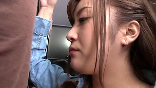 Hottest Japanese chick in Amazing JAV censored POV, College scene