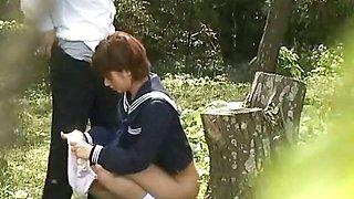 School Student Secret Outdoor Sex Video