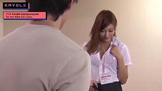 HOT JAV japanese office beauty fucking in office uncensored