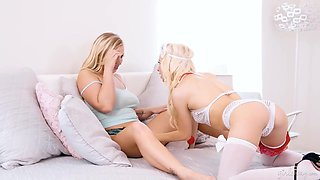 Roleplay Action With Busty Milf And Teenage Nurse
