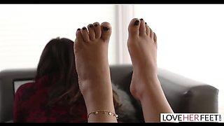 Stepbro Bribed with Pussy & Feet