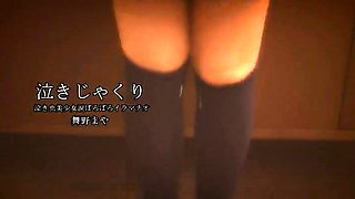 Lovely Japanese schoolgirl gets nailed rough by two boys