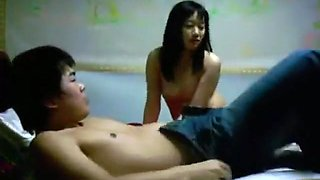 Korean girl couple homemade sextape