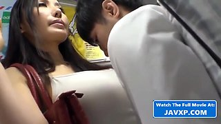 Japanese Teens Fucked On The Bus