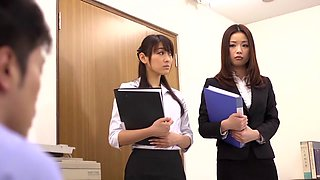 Risa Kasumi, Sho Nishino in Female Teachers Slave Trade part 1.1
