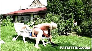 Fat Czech mistress Monika Blond