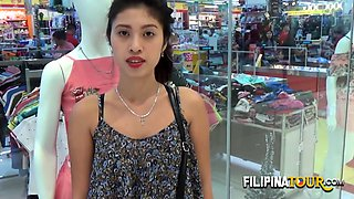 Teen filipina hairy street meat taken