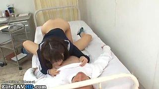 Jav 18yo schoolgirl has sex in the nursery