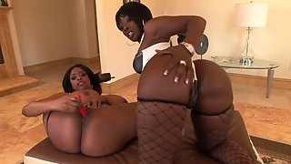 Amazing pornstars Carmen Hayes and Beauty Dior in incredible stockings, tattoos porn clip