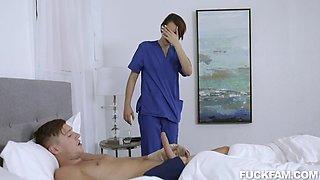 Natalie Porkman And Ama Port - Horny Xxx Scene Costumes/apparel: Nurse (naasu)