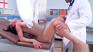 Horny Sluty Patient (Cytherea) Come To Cabinet And Bang With Doctor clip-5