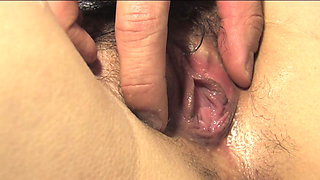 Beautiful Asian whore gets her pussy teased