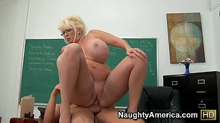Kayla Kleevage & Chris Johnson in My First Sex Teacher