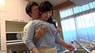 Sasa Sexy Women in Kitchen