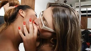 lesbian deep kissing a lot