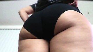 Nice amateur girl ass exposed wearing panties