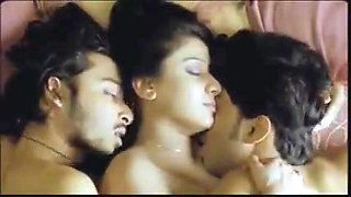 3 On A Bed 2012 (Erotic Threesome)