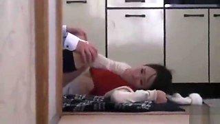Japanese Mom Cheating while breastfeeding