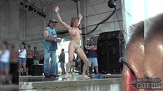 neverbeforeseen Abate Of Iowa Biker Rally Strip Contest July 4 2003 - SouthBeachCoeds