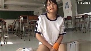 Arousing Asian teen Kurumi Tachibana gets hard fucking
