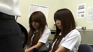 Japanese Schoolgirls Caught Stealing And Get Fucked