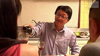 Living Housekeeper Couple Cuckold Copulate - Japanese Porn