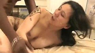 Japanese Slut Gets Black Cock in Vegas - Cireman