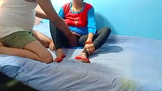 Indian sexy girl gets fucked by her friend