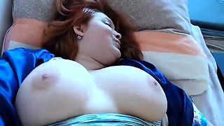 Redhead Masturbation Sex Flush and Pulsating Orgasms