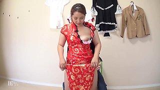 Keika Aida I Got Excited About China Dress