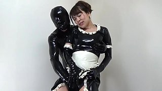 Japanese Latex Maid and Catsuit 88