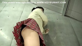 upskirt bloomers japanese school girl