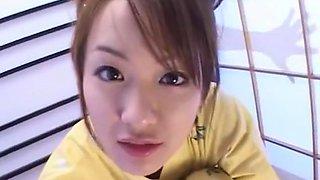Incredible Japanese model Izumi Hasegawa in Exotic Glory Hole, POV JAV movie