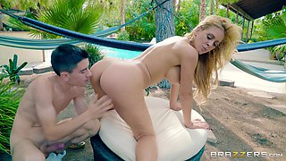 Dick craving Cherie Deville is interested in a big cock