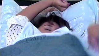 Hot like fire wifey gives awesome morning blowjob to her still sleeping hubby