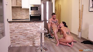 Hot Spanish babe Adara is cheating on her boyfriend with her fuck mate