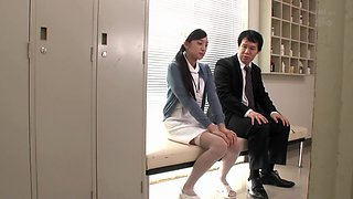 Exotic Japanese slut in Crazy Nurse, HD JAV video