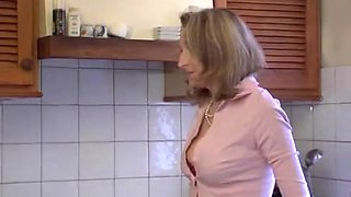 Estelle is a naughty French Mature who loves young cock
