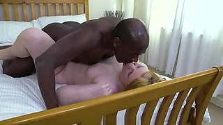Huge BBC Blackwood fucking my pussy and ass with facial
