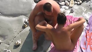Vignettes on a nude beach 15