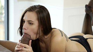 Aidra Fox Takes a Monster Black Cock