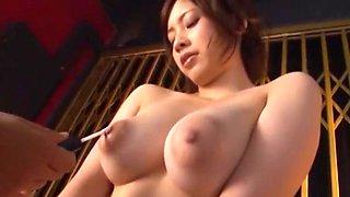 Exotic Japanese whore Saki Okuda in Incredible Cumshots, Blowjob/Fera JAV movie