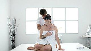 Massage Rooms Chubby big tits Taylee Wood romantic sex