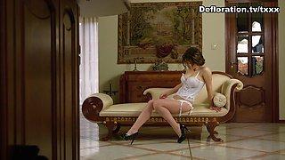 DeflorationTv Video: Alesya Gagarina - Hardcore Defloration
